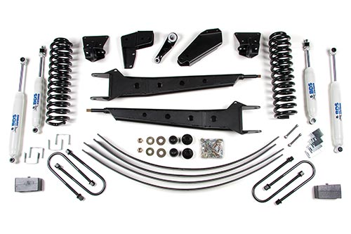 "Fat Bob's Garage, BDS Part #502H, Ford F150 4"" Front 2"" Rear Suspension System 4WD 1980-1996"