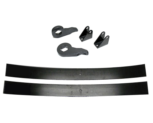 "Fat Bob's Garage, Part # 5058-AAL50-EXT8L, Chevrolet/GMC 2500HD 3"" Lift Kit w/Rear Add-A-Leaf 4WD/2WD 2000-2010 (8-lug)"