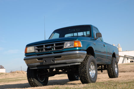 1999 ford ranger lift kit 2wd