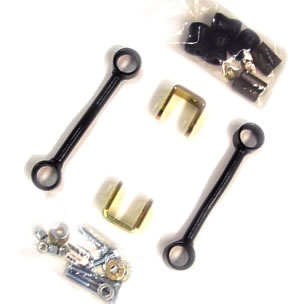 Fat Bob's Garage, Pro Comp Part #55597B, Sway Bar End Link Kit - Jeep XJ, ZJ - 4WD