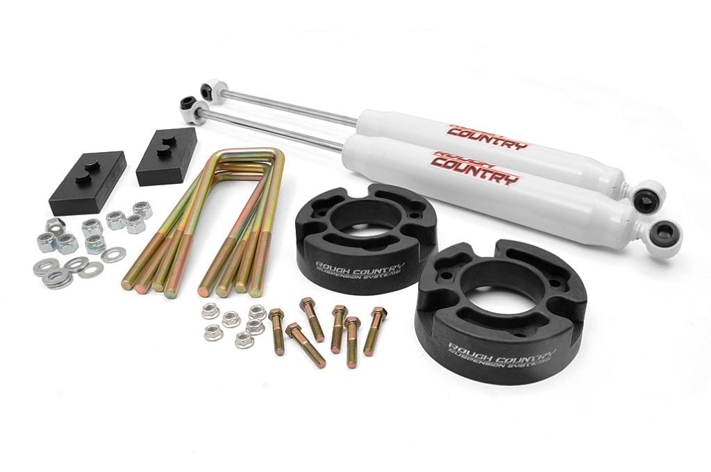 "Fat Bob's Garage, Rough Country Part #570, Ford F150 2.5"" Leveling Lift Kit 2004-2008"