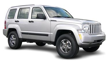 "Fat Bob's Garage, Revtek Part #582-Liberty, Jeep Liberty 2008-2012 Revtek 2"" Front 1.25 Rear Lift Kit"