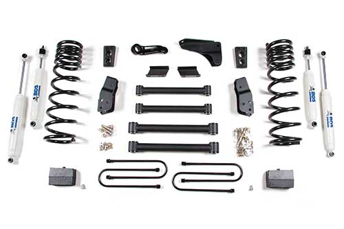 "Fat Bob's Garage, BDS Part #607H, Dodge Ram 2500/3500 6"" Front 3 1/2"" or 4"" Rear Suspension System 2009-2012"