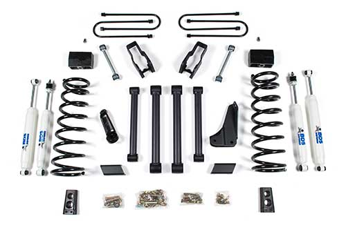 dodge ram 2500 power wagon 4 u0026quot  suspension lift kit 2009