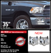 "Fat Bob's Garage, Ready Lift Part #66-1030, Dodge Ram 1500 2"" Front Aluminum Leveling Kit 4WD 2006-2016"