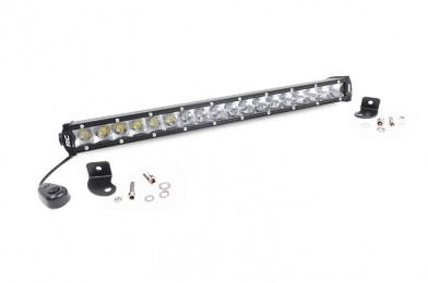 20 cree led light bar single row mozeypictures Image collections