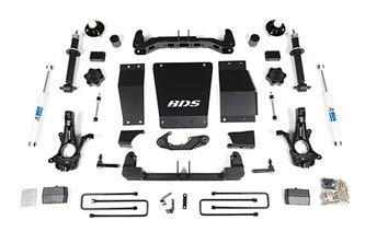 "Fat Bob's Garage, BDS part #722H, Chevrolet/GMC Colorado/Canyon 5.5"" Suspension Lift Kit 4WD 2015-2016"