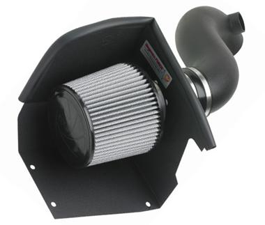 Fat Bob's Garage, AFE Part #51-10612, Chevrolet Duramax Stage 2 Pro Dry S Cold Air Intake System 2004.5-2005