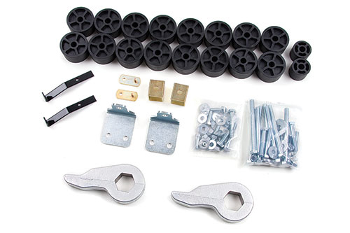 "Fat Bob's Garage, Zone Offroad Part #C1352, Chevrolet/GMC Silverado/Sierra 1500 3.5"" Combo Kit 4WD 2006"