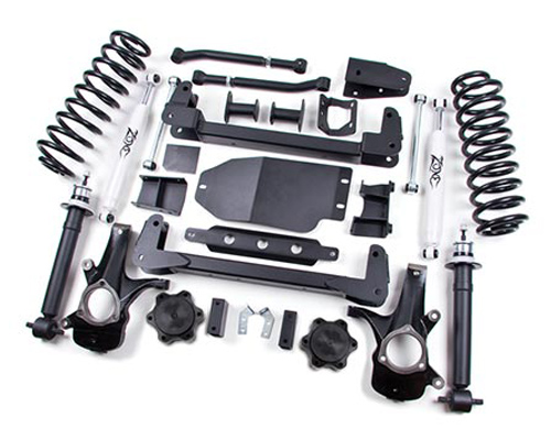 "Fat Bob's Garage, Zone Offroad Part #C6, Chevrolet/GMC Avalanche Suburban Tahoe 4WD 6"" Suspension System 2007-2013"