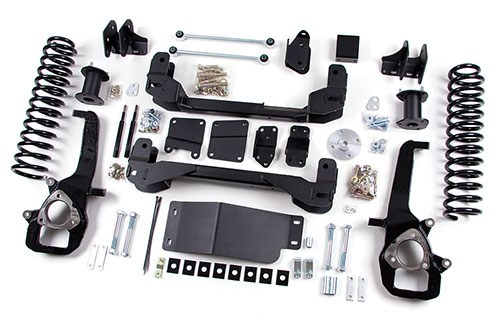 "Fat Bob's Garage, Zone Offroad Part #D1, Dodge Ram 1500 4WD 4"" IFS Suspension System 2009-2011"
