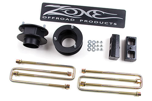 "Fat Bob's Garage, Zone Offroad Part #D1252, Dodge Ram 1500 2.5"" Lift Kit 4WD 1994-2001"