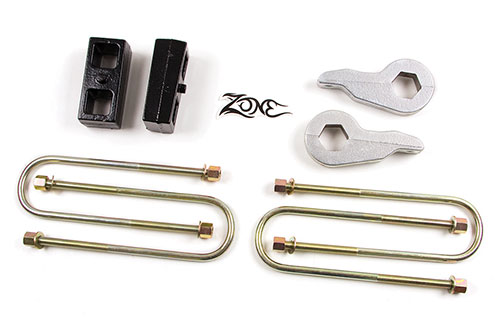 "Fat Bob's Garage, Zone Offroad Part #D1210, Dodge Ram 1500 2"" Lift Kit 4WD 2002-2005"