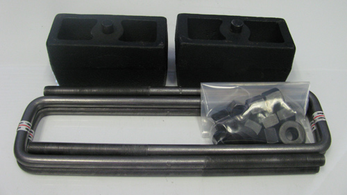 "Fat Bob's Garage, Part # FBB3-50, Chevrolet/GMC 1500 2"" Rear Lift Blocks Kit 4WD/2WD 1999-2007"