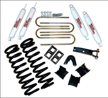 "Fat Bob's Garage, Rough Country Part #405.2, Ford Bronco 2.5"" Suspension Kit 4WD 1978-1979"