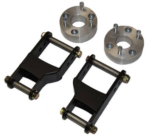 """2002 Nissan Xterra Lift Kit >> Nissan Xterra 2"""" Rear Shackle Lift Kit 2000-2015"""