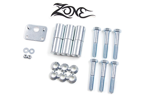"Fat Bob's Garage, Zone Offroad Part #J5008, Jeep Wrangler TJ Transfer Case Drop 1-5/8"" (4"" lift) 4WD 1997-2002"