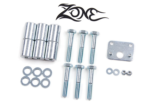 "Fat Bob's Garage, Zone Offroad Part #J5011, Jeep Wrangler TJ Transfer Case Drop 1-5/8"" (4"" lift) 4WD 2003-2006"
