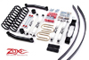 "Fat Bob's Garage, Zone Offroad Part #J8, Jeep Cherokee XJ 4.5"" Suspension System 1984-2001"