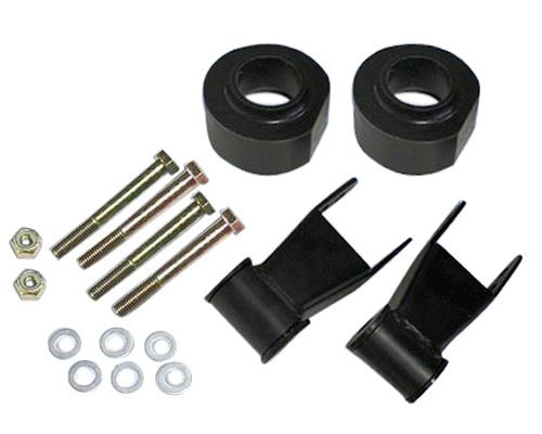 "Fat Bob's Garage, Part # FBXJ3-2SR, Jeep Cherokee/Comanche 3"" Front 2"" Rear Lift Kit 1984-2001"