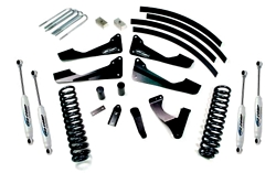 "Fat Bob's Garage, Pro Comp Part #EXPK4150B, Ford Super Duty Diesel Stage I 6"" Lift Kit w/Shocks 4WD 2008-2012"