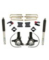 "Fat Bob's Garage, MaxTrac #K881375B, Chevrolet/GMC Silverado/Sierra 1500 7.5"" Lift Kit, Bilstein Shocks 2WD 2007-2014"