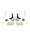 "Fat Bob's Garage, MaxTrac part #K882145, Dodge Ram 1500 4.5"" Lift Kit, MaxTrac Shocks 2WD 2002-2008"