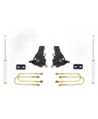 "Fat Bob's Garage, MaxTrac part #K883532, Ford F150 Heritage 3.5""/2"" Lift Kit 2WD 1997-2004"