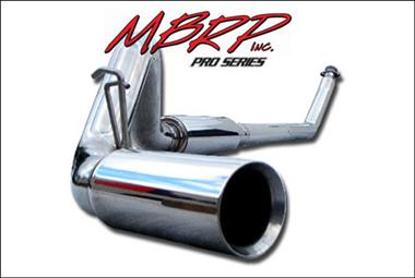 Fat Bob's Garage, MBRP part #S6100304, Dodge Ram 2500/3500 5.9L Turbo Back Single Side 1994-2002