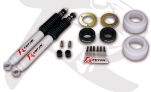 "Fat Bob's Garage, Revtek Part #431, Toyota FJ Cruiser 3"" Front 2.5"" Rear Lift Kit"
