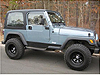 "Jeep Wrangler 2"" Suspension Lift Kit w/Shocks 1997-2006 Mini-Thumbnail"