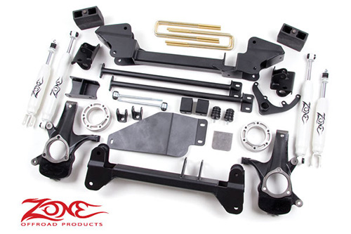 "Fat Bob's Garage, Zone Offroad Part #C3, Chevrolet/GMC 1500 4WD 6"" Suspension System 1999-2006"