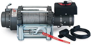 Fat Bob's Garage, Warn Part #17801, M12000 SELF-RECOVERY WINCH