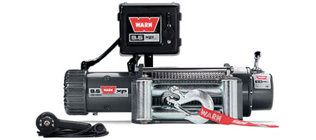 Fat Bob's Garage, Warn Part #68500, 9.5xp SELF-RECOVERY WINCH