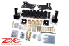 "Fat Bob's Garage, Zone Offroad Part #C9315, Chevrolet/GMC 3"" Body Lift 2000-2006"