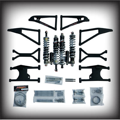 Fat Bob's Garage, Zebroz Racing, Polaris RZR and RZR S +4.5 Long Travel Package