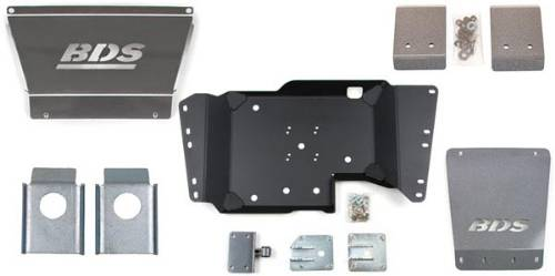 Fat Bob's Garage, BDS Part #121610, Chevrolet K2500 HD Stainless Steel Skid Plate