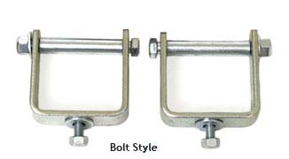 "Fat Bob's Garage, BDS Part #228010, 2.5"" Bolt style Spring Clips - (4 ea.)"