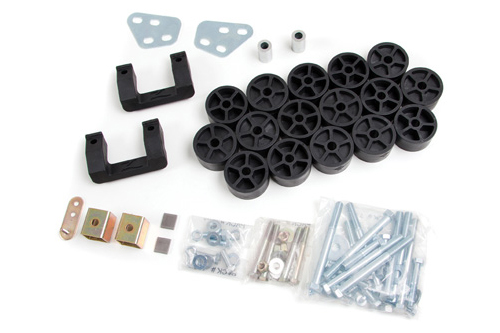 "Fat Bob's Garage, Zone Offroad Part #C1350, Chevrolet/GMC 1500 Pickup 3.5"" Combo Kit 2007-2013"