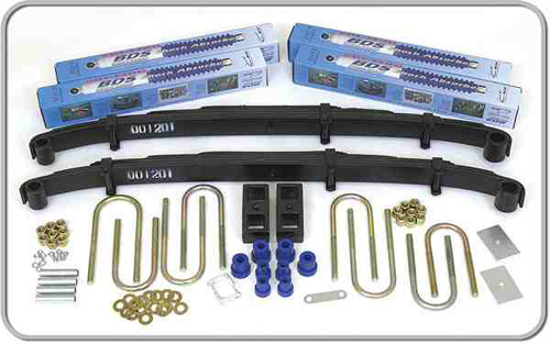 "Fat Bob's Garage, BDS Part #107h, Chevrolet/GMC Pickup, Blazer, Jimmy, Suburban 2.5"" Lift Kit 1973-1976"