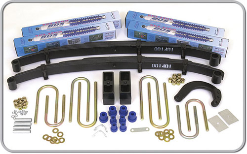 "Fat Bob's Garage, BDS Part #135h, Chevrolet/GMC Blazer, Jimmy, Suburban 2.5"" Lift Kit 1988-1991"