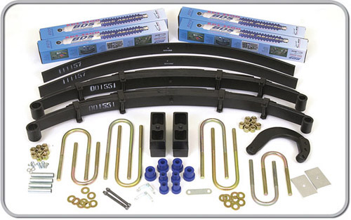 "Fat Bob's Garage, BDS Part #115h, Chevrolet/GMC Pickup, Blazer, Jimmy, Suburban 6"" Lift Kit 1973-1976"