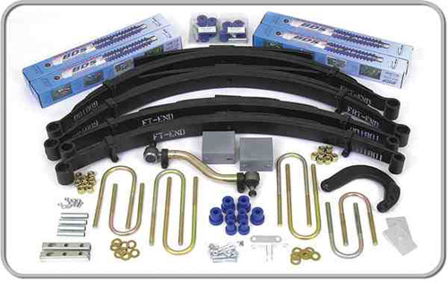 "Fat Bob's Garage, BDS Part #133h, Chevrolet/GMC Pickup, Blazer, Jimmy, Suburban 8""Lift Kit 1977-1987"