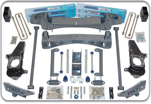 "Fat Bob's Garage, BDS Part #149h, Chevrolet/GMC C2500 HD Pickup 2WD 6"" Lift Kit 2001-2010"