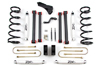 "Fat Bob's Garage, Zone Offroad, Dodge Ram 2500/3500 5"" Suspension System 4WD 2008"
