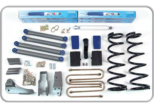 "Fat Bob's Garage, BDS Part #226H, Dodge Ram 2500/3500 6"" Front 5"" Rear Suspension System 2003-2007"