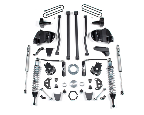 "Fat Bob's Garage, BDS Suspension Part #653F and 656F, Dodge Ram 2500/3500 8"" Performance Coil Over System 2003-2007"