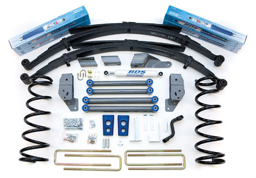 "Fat Bob's Garage, BDS Part #211H, Dodge Ram 2500 4.5"" Front 4.5"" Rear Suspension System 1994-1999"
