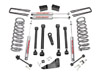 "Fat Bob's Garage, Rough Country Part #393.24, Dodge Ram 2500/3500/Mega Cab 5"" X-Series Suspension Lift Kit 4WD 2008"