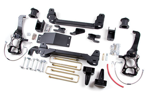 "Fat Bob's Garage, Zone Offroad Part #F8, Ford F150 4WD 4"" Suspension System 2004-2008"